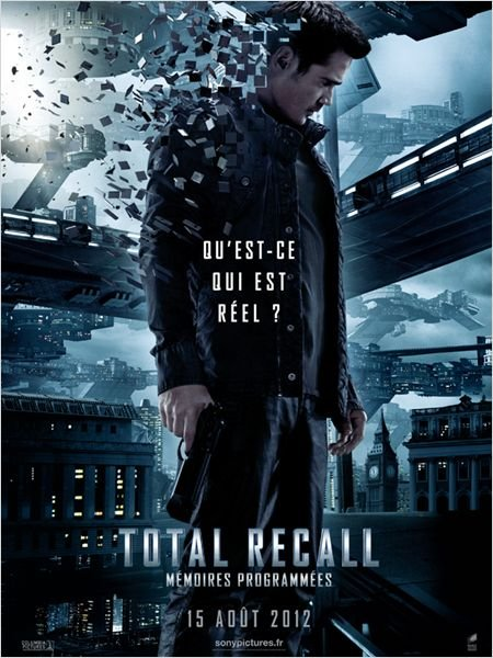 Total Recall remake memoires programmees