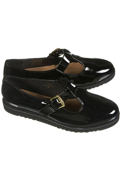 MAMA patent T-bar shoes, $60, topshop.com