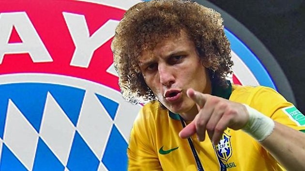 David Luiz has been linked with Bayern