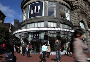 Gap Store: Credit Getty Images