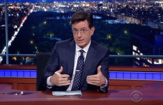 "Stephen Colbert on Oregon Shooting: ""Insanity Is Changing Nothing and Pretending Something Will Change"""