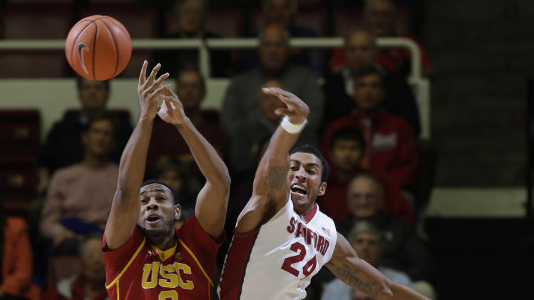 Stanford races past short-handed USC 80-59