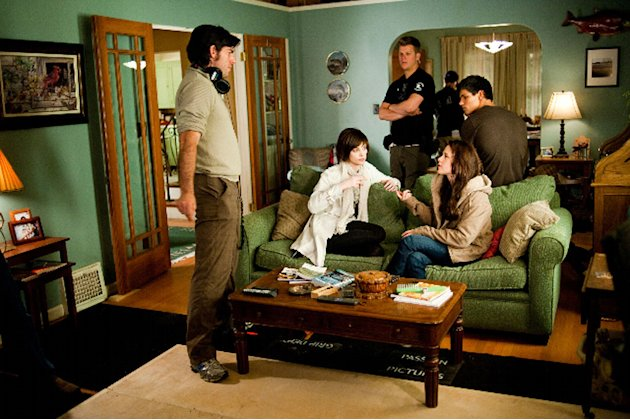 Twilight Saga New Moon 2009 Production Stills Summit Entertainment Chris Weitz Ashley Greene Kristen Stewart Taylor Lautner