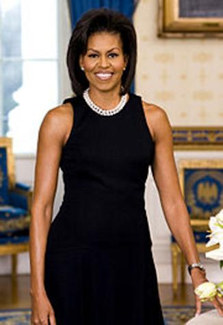 Michelle Obama is an example of beauty, ambition and confidence.