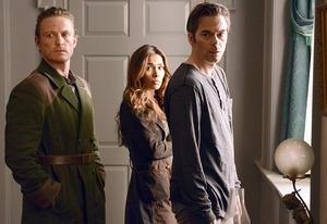David Lyons, Daniella Alonso, Billy Burke | Photo Credits: Brownie Harris/NBC
