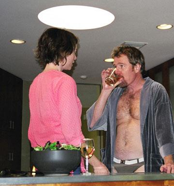 Julianne Nicholson and Bryan Cranston in Lantern Lane's Seeing Other People