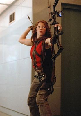 Jessica Biel as Abigail Whistler in New Line's Blade: Trinity