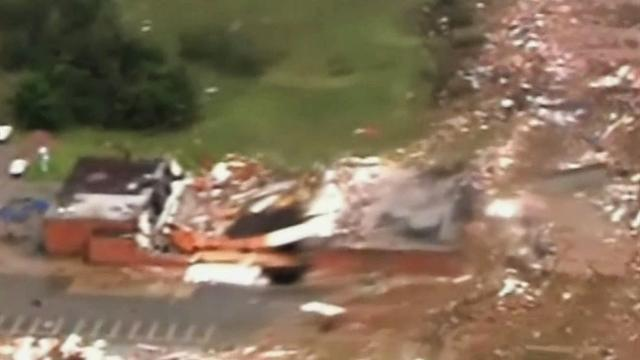 """Oklahoma City manager: Tornado created """"significant damage"""""""