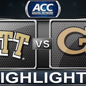 Pittsburgh vs Georgia Tech | 2013 ACC Football Highlights