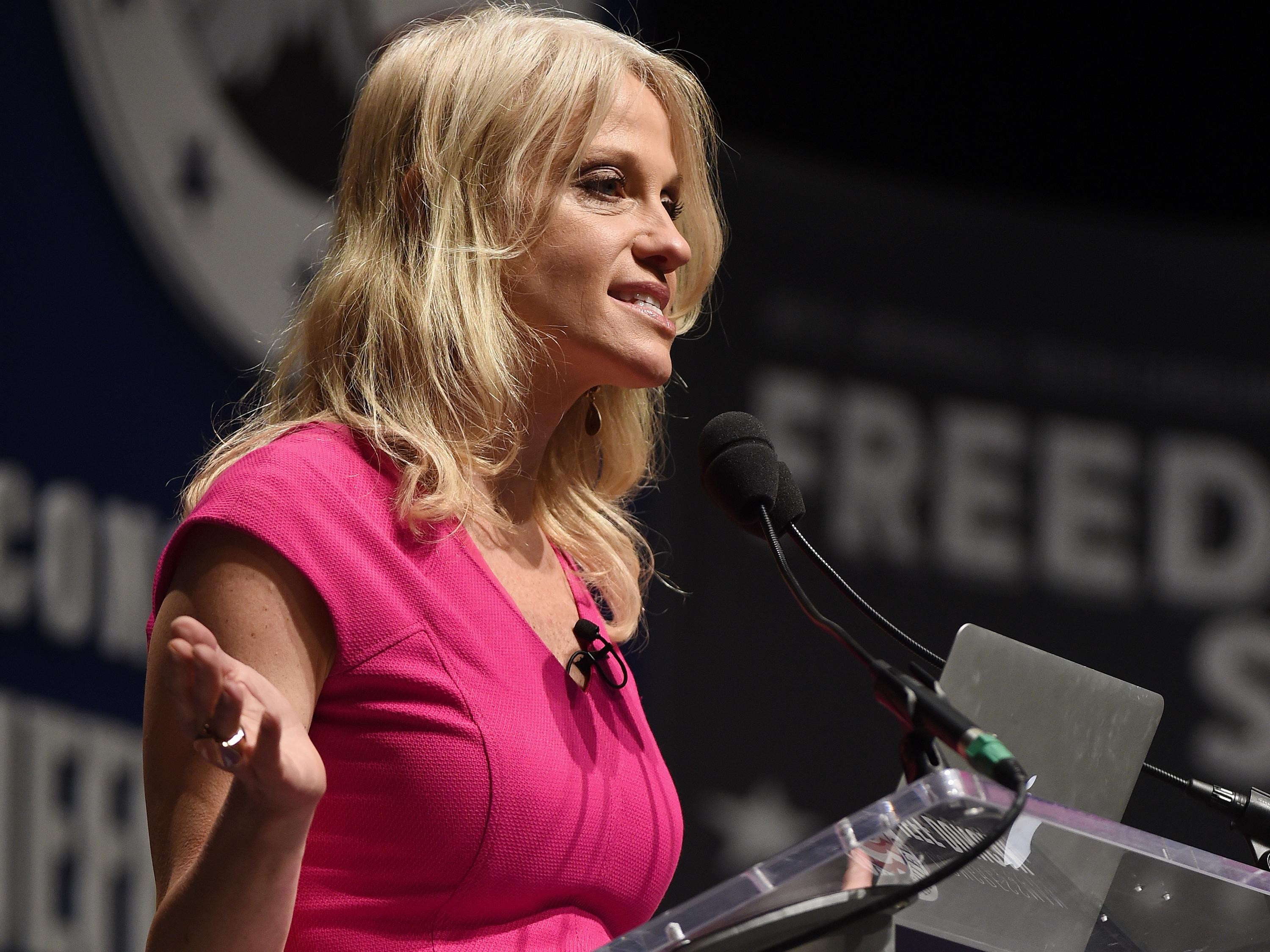 Kellyanne Conway responds to report of clash between Clinton's and Trump's campaign aides