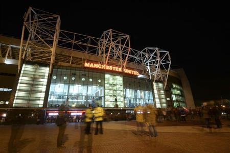 Manchester United Old Trafford stadium is pictured ahead of their English Premier League soccer match against Everton in Manchester, northern England, December 4, 2013. REUTERS/Nigel Roddis/Files