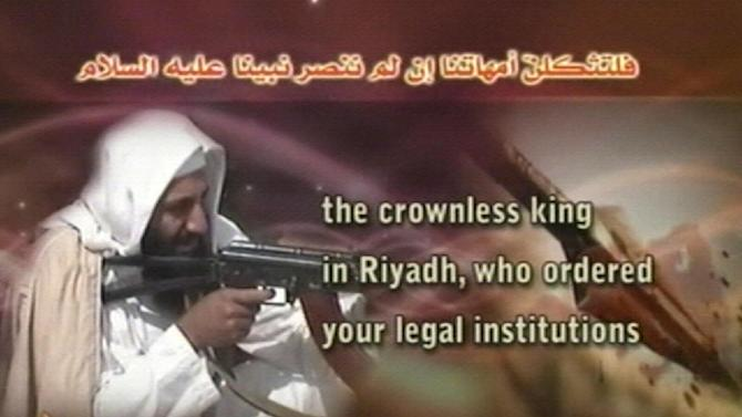FILE- This image released by al-Qaida's media unit as-Sahab and taken from a militant Web site shows an undated photo of Osama bin Laden as part of an audiotaped speech posted late Wednesday, March 19, 2008. Osama bin Laden cut himself off from basic communications like phone and Internet during his final years in Pakistan as he attempted to elude the CIA. But the terror group he founded did just the opposite, seizing the power of the Web to spawn an army of online followers who will continue al-Qaida's war against the West long after his demise.   (AP Photo/as-Sahab via AP Television News, FILE) TV OUT