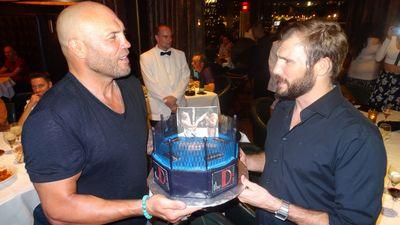 MMA Fighter Ryan Couture Celebrates His Birthday with Dad Randy Couture at Andiamo Italian Steakhouse