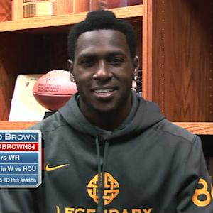 Pittsburgh Steelers wide receiver Antonio Brown: 'We're just hitting our stride'
