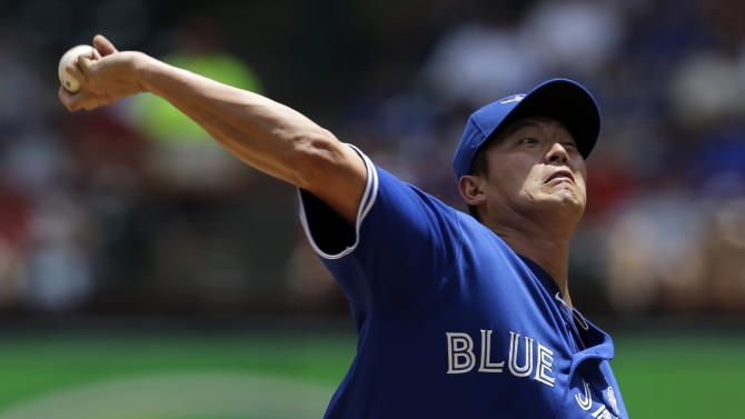 Wang, Blue Jays finish sweep of slumping Rangers