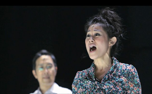 "Actors in ""NBC"", the Esplanade-commissioned musical in celebration of its 10th anniversary. (Screengrab)"