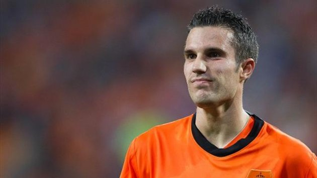 FOOTBALL 2012 Netherlands Robin van Persie