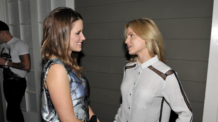 EXCLUSIVE CONTENT - IMAGE DISTRIBUTED FOR SPIN MEDIA - Sophia Bush, left, and Mena Suvari attend Clearly Chateau at The Chateau Marmont on Thursday, May 24, 2013, in West Hollywood, Calif. (Photo by John Shearer/Invision for Spin Media/AP Images)