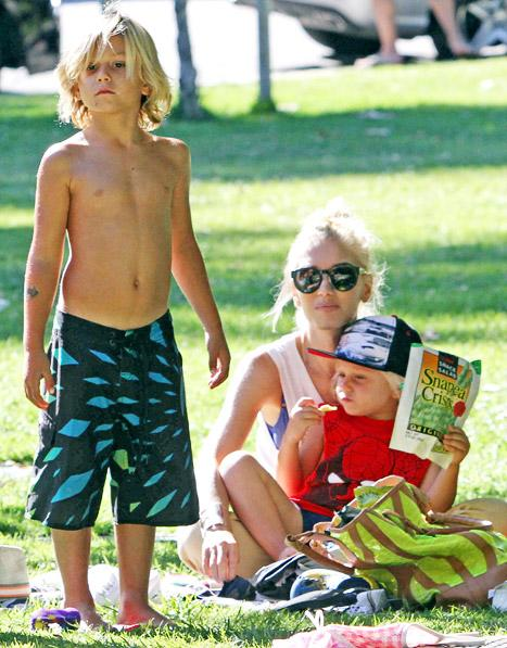 "Gwen Stefani: ""My Kids Are So Much Work!"""