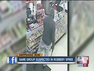 Deputies say armed robbers targeted convenience stores in Pasco and Hillsborough overnight