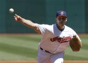 Masterson leads Indians past Yankees 1-0