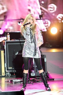 Miley Cyrus in Walt Disney Pictures' Hannah Montana/Miley Cyrus: Best of Both Worlds Concert Tour