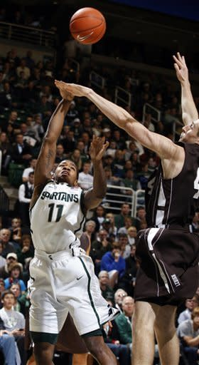Appling lead No. 19 Spartans over Lehigh 90-81