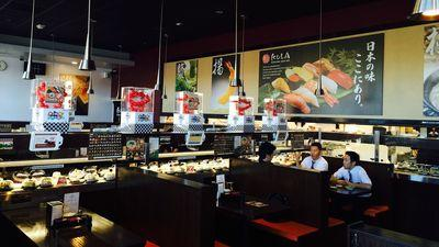 Hop On the Sushi-Go-Round at Kula Revolving Sushi Bar