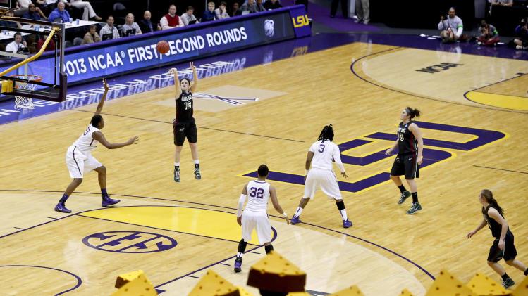 NCAA Womens Basketball: NCAA Tournament-Green Bay vs LSU
