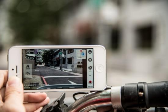 行車記錄器不只能用在車上,也能在腳踏車、機車上使用喔!