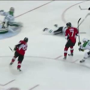 Erik Karlsson tallies on the one-timer