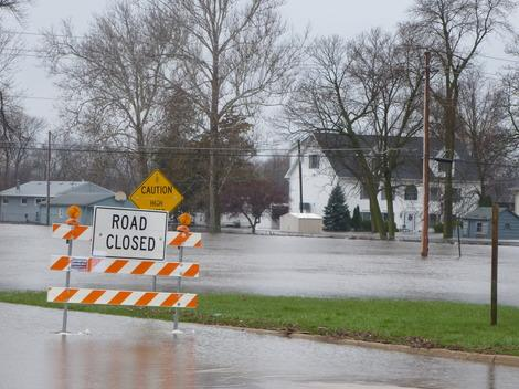 Rock River Flooding in Illinois Sets Record; Mississippi River Flood is 13th Worst