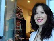 An undated handout photo, received on September 24, shows Jill Meagher who worked for the Australian Broadcasting Corporation. Australian police on Friday charged a 41-year-old man with the rape and murder of Meagher, who disappeared in Melbourne last week