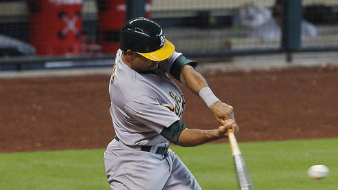 Crisp's homer gives A's 4-3 win over Astros