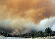 FILE - In this file photo taken Saturday, June 9, 2012, smoke billows from the Little Bear fire in southeastern New Mexico near Ruidoso, NM. When lightning sparks a wildfire deep in remote wilderness, U.S. Forest Service firefighters in recent years have been under orders to respond immediately, often trekking miles through steep, dense terrain with heavy gear to extinguish the blaze as quickly as possible. The agencys policy to kill all fires, no matter how small or remote, was meant to decrease the threat of a spreading catastrophe in an increasingly parched, drought-stricken Western landscape. But in 2012 the forest service spent hundreds of millions over its budget, leading to a new approach to wildfire management in 2013. (AP Photo/Roswell Daily Record, Mark Wilson, File)