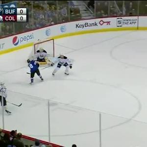 Anders Lindback Save on Joey Hishon (08:00/1st)
