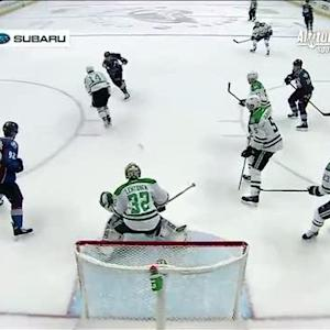 Tyson Barrie scores his first of the season