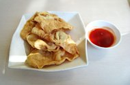 Wontons can be used in sweet or savory dishes.