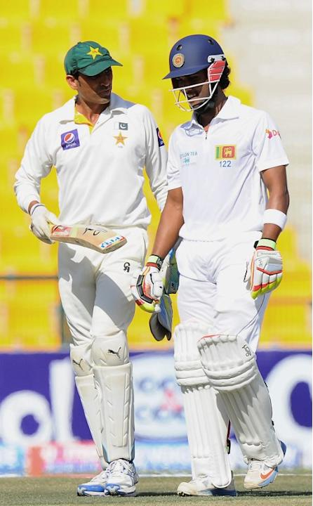 Dinesh Chandimal and Younis Khan