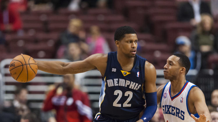 NBA: Memphis Grizzlies at Philadelphia 76ers