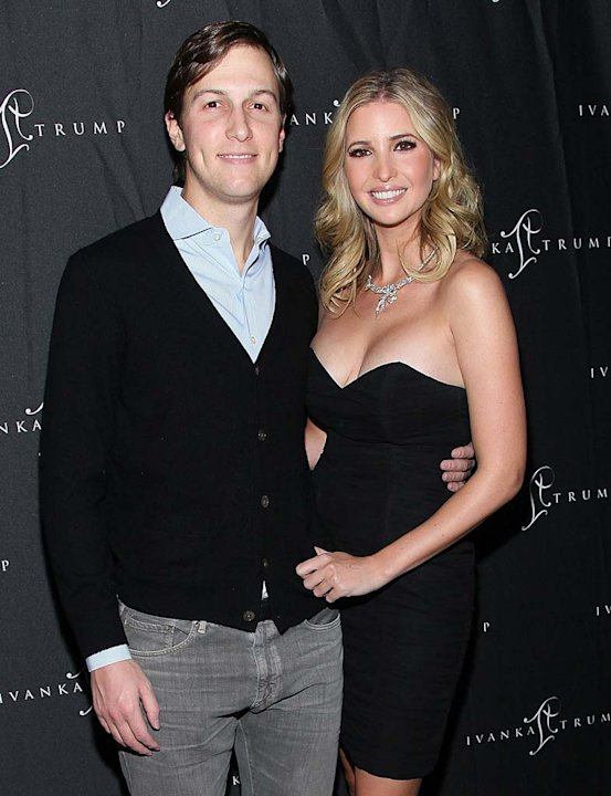 Kushner Trump Jewelry Opening