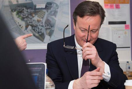 Over 100 business bosses back PM Cameron's Conservatives ahead of election