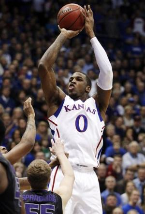 No. 14 Kansas beats No. 23 K-State 67-49