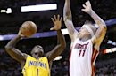 Pacers, Heat bring playoffs to life with overtime thriller