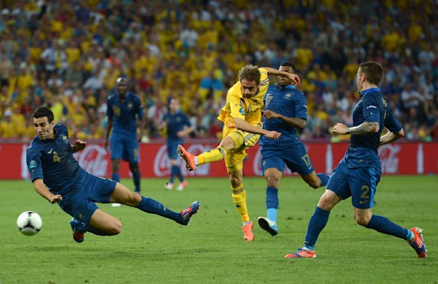Ukraine v France - Group D: UEFA EURO 2012