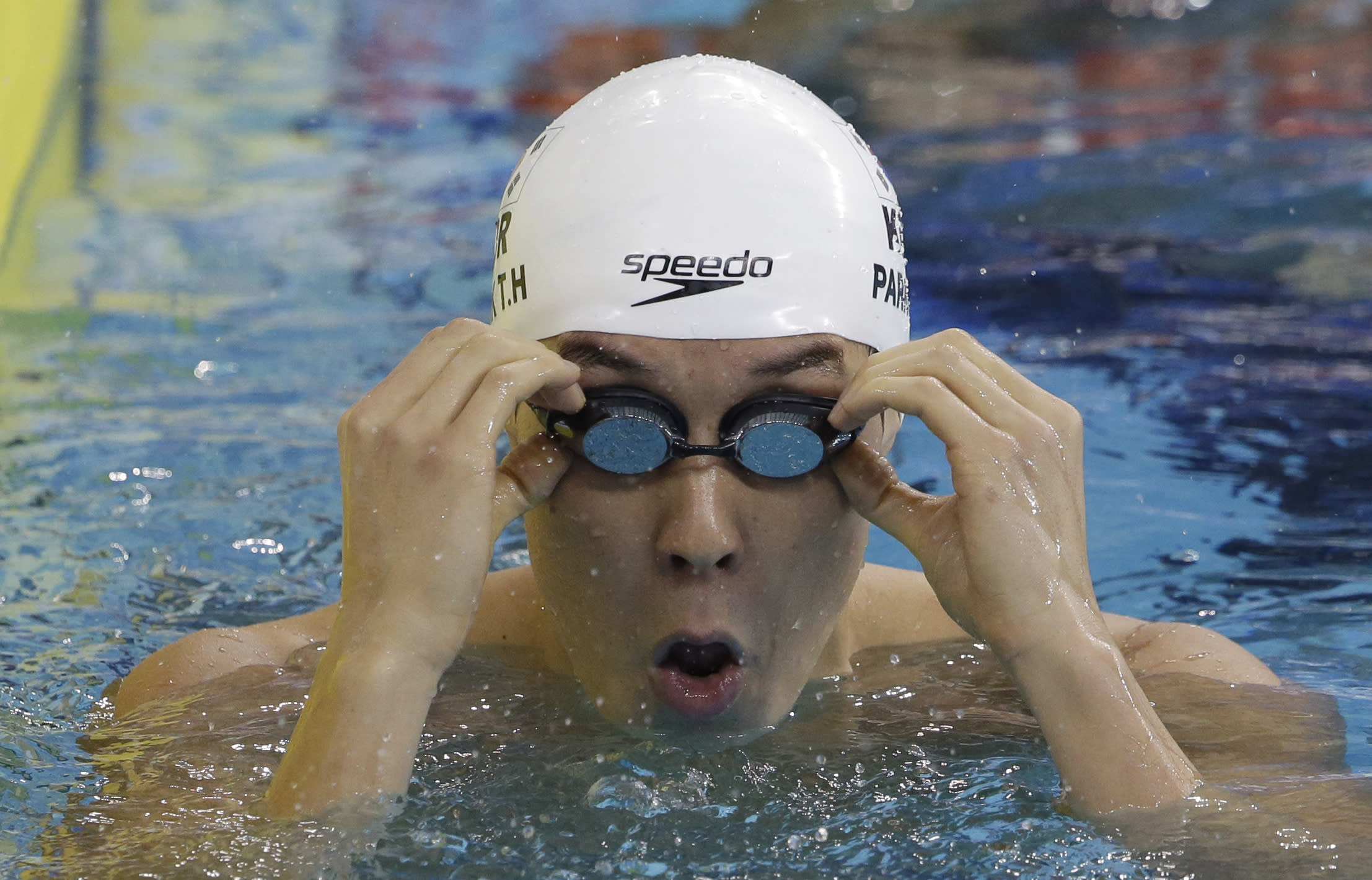 Former Olympic swimming champ Park apologizes for doping ban