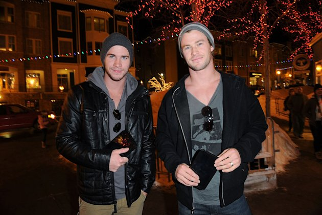 2011 Sundance Film Festival Chris Hemsworth Liam Hemsworth