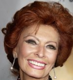 Sophia Loren makes an awesome redhead. Getty Images