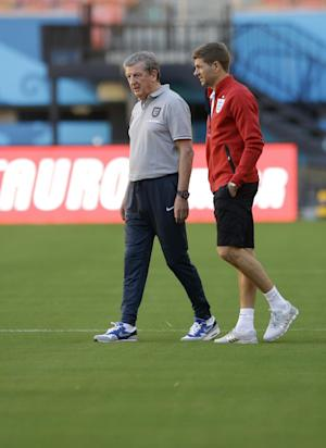 Gerrard puts slip behind him to lead England
