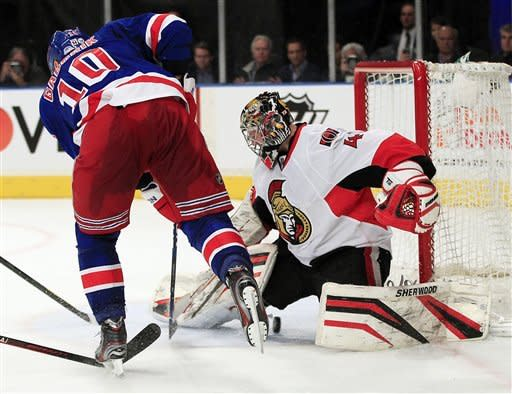 Senators-Rangers Preview